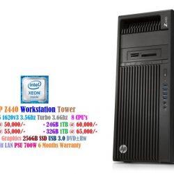 HP Z440 Workstation Tower - Xeon E5 1620v3