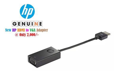 HP HDMI to VGA Adapter H4F02AA