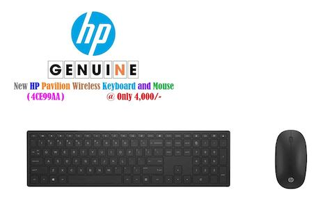 HP Wireless Keyboard & Mouse 4CE99AA