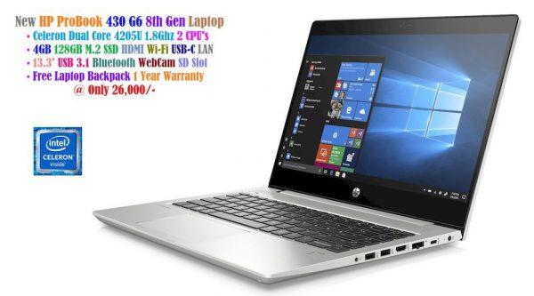 HP ProBook 430 G4 8th Gen Laptop