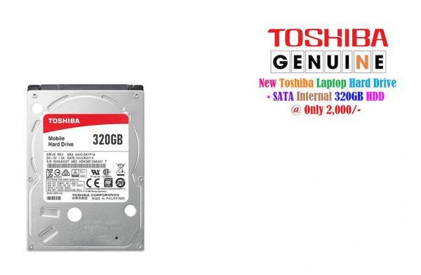 Toshiba Laptop 320GB Hard Drive