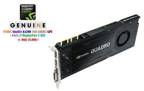 Nvidia Quadro K4200 4GB GDDR5 GPU
