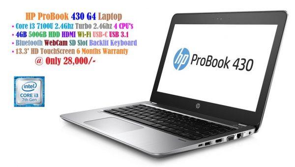 HP ProBook 430 G4 Laptop - Intel Core i3