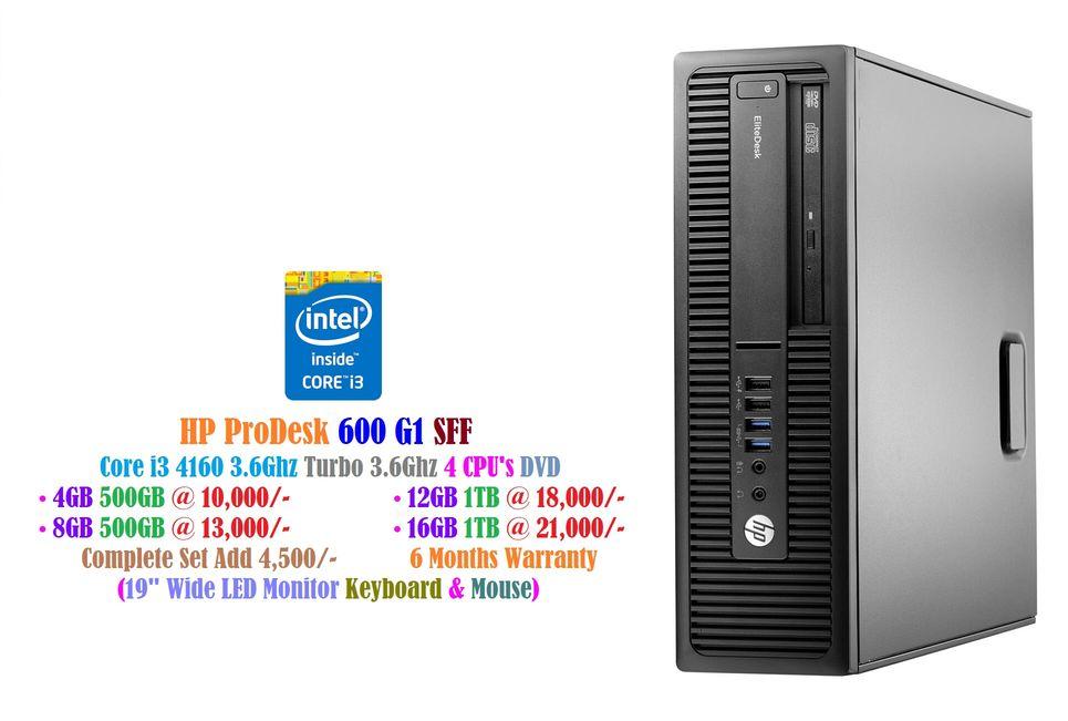 HP ProDesk 600 G1 SFF - Intel Core i3 4160 | Bestsella Computers Kenya