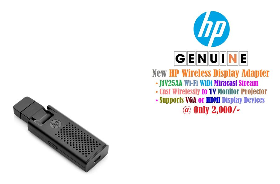 HP J1V25AA Wireless Display Miracast Adapter - Bestsella Computers Kenya