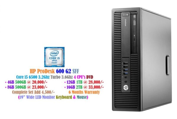 HP ProDesk 600 G2 SFF - Core i5 - Bestsella Computers Kenya