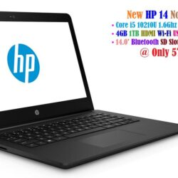 HP 14 Notebook - Intel Core i5