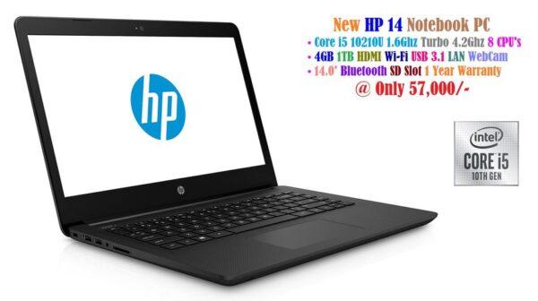 HP 14 Notebook - Intel Core i5