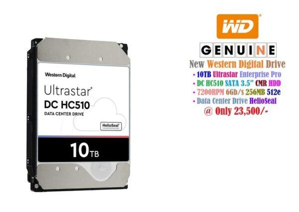 Western Digital 10TB Ultrastar HC510 Data Center Drive
