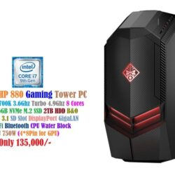 Omen by HP, 880 Gaming Tower PC Intel Coree i7 9700k