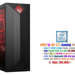 Omen by HP, 875 Gaming Tower PC - i7 8700