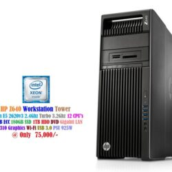 HP Z640 Workstation Tower - Xeon E5 2620v3