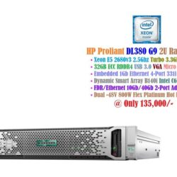 HP Proliant DL380 G9 2U Rack Server - 24 CPUs