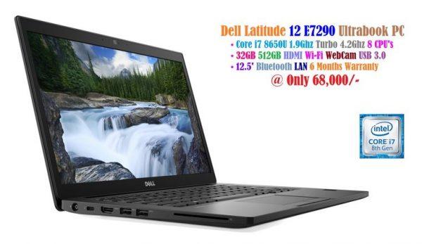 Dell Latitude 12 E7290 Ultrabook - Core i7 8650U