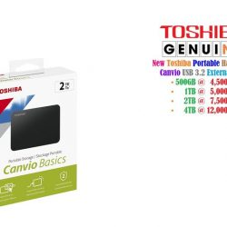 Toshiba Portable External Hard Drive